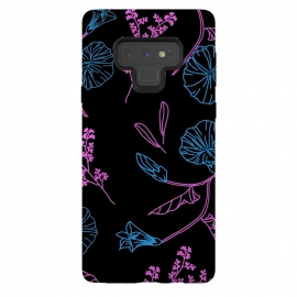Galaxy Note 9  floral pattern 2 by