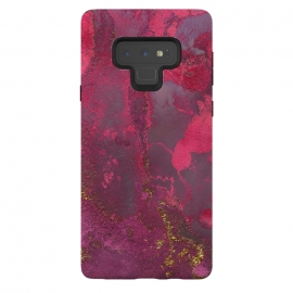 Galaxy Note 9  Pink Gold Marble by Utart