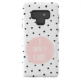 Galaxy Note 9  I dont care on polka dots by Utart