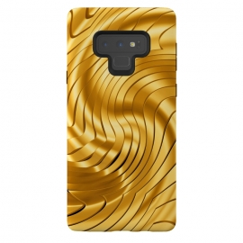 Galaxy Note 9  Goldie X by Art Design Works (Goldie X,Graphic-design,Digital,Acrylic,Pattern,3d,Abstract,Gold,Goldie,Texture,Fashion,Style,Luxury,Unique,Swirl,Render,Color,Reflection,Artwork,Artistic,Lights,Metallic,iphone x,arts case,phone cases,uk shop,new art,design,custom,3d wave,online,gift)