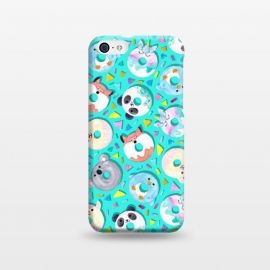 iPhone 5C  Animal Donut Confetti by gingerlique