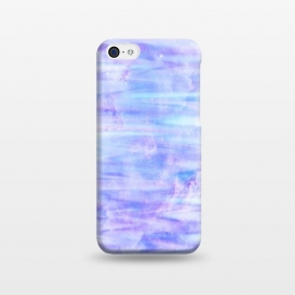 iPhone 5C  Purple galaxy marble by Jms