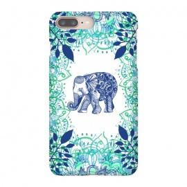 iPhone 8/7 plus  Boho Elephant  by  (elephant ,boho,elaphnats,animal,hippie,flowers,floral,pretty,mandala)