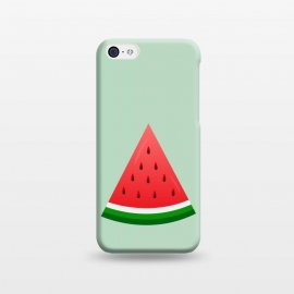 iPhone 5C  watermelon by TMSarts