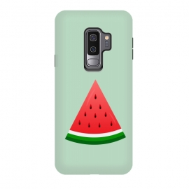 Galaxy S9+  watermelon by TMSarts (watermelon,watermelon lover ,fruit,art,illustration,shapes,summer,vegetable,plants,witamin)