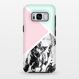 Galaxy S8+  Cute geometric marble by Jms