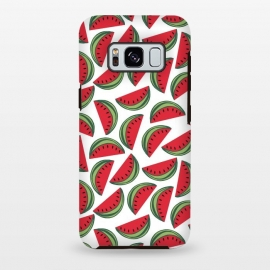 Watermelon by Dunia Nalu (love,foods,food,summer,fruit,fruits,watermelon,nature,pattern,red,classy,minimalist)