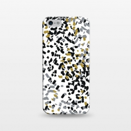 iPhone 5/5E/5s  Snow by  (abstract,marble,pattern,geometric,texture,snow,winter,christmas,holidays,blackandwhite,b&w,space)