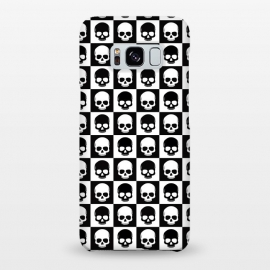 Galaxy S8+  Checkered Skulls Pattern I by Art Design Works
