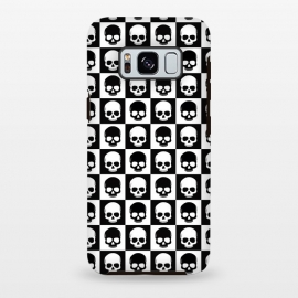 Checkered Skulls Pattern I by Art Design Works