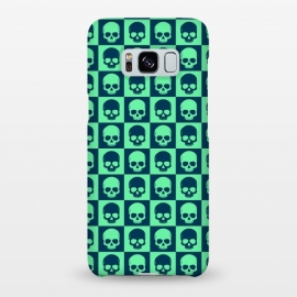 Galaxy S8+  Checkered Skulls Pattern III by Art Design Works