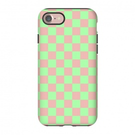 iPhone 8/7  Checkered Pattern I by Art Design Works