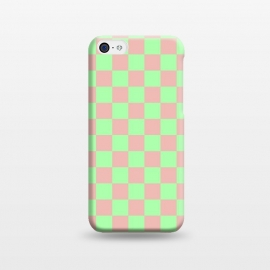 iPhone 5C  Checkered Pattern I by Art Design Works