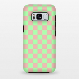 Galaxy S8+  Checkered Pattern I by Art Design Works