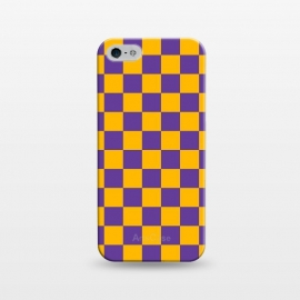 iPhone 5/5E/5s  Checkered Pattern II by Art Design Works