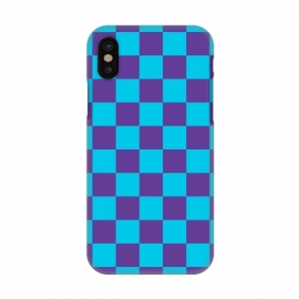 iPhone X  Checkered Pattern III by Art Design Works