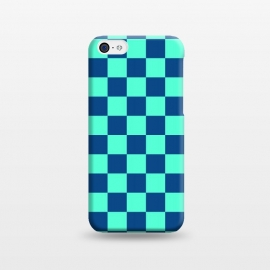 iPhone 5C  Checkered Pattern VI by Art Design Works