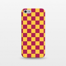 iPhone 5/5E/5s  Checkered Pattern VII by Art Design Works