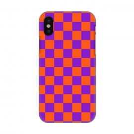 iPhone X  Checkered Pattern VIII by Art Design Works