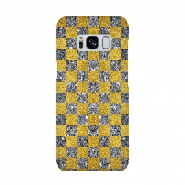 Checkered Pattern X by Art Design Works