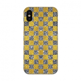 iPhone X  Checkered Pattern X by Art Design Works