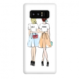 Galaxy Note 8  Best friends by Martina (bff,besties,best friends,girlfriends,girls,women,females,people,illustration,modern,cute,girly,stylish,for her,for friends)
