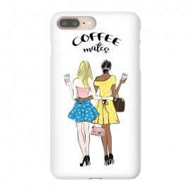 iPhone 8/7 plus  Coffee mates - dark skin by