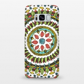 Galaxy S8+  Leaf Mandala by Laura K Maxwell