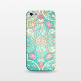 iPhone 5/5E/5s  Floral Moroccan in Spring Pastels by