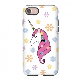 iPhone 8/7  Hippie Unicorn by Laura Nagel