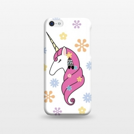 iPhone 5C  Hippie Unicorn by Laura Nagel