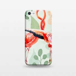 iPhone 5C  Flamingo Love by Uma Prabhakar Gokhale