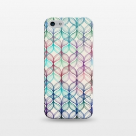 iPhone 5/5E/5s  Mermaid's Braids - a colored pencil pattern by