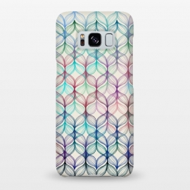 Galaxy S8+  Mermaid's Braids - a colored pencil pattern by Micklyn Le Feuvre