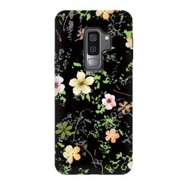 Galaxy S9+  The small jungle by Bledi (watercolor, small, print, leaf, nature, vintage, must have, fashion, field, style, autumn, different, jungle, spring, summer, pattern, sun, flower, home-decor, cool, green, beautiful, mugs, photographic prints, samsung galaxy cases skins, scarves, spiral notebooks, stickers, studio pouches, t shirts)