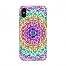 iPhone X  Mandala Mehndi Style G379 by Medusa GraphicArt