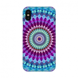 iPhone X  Geometric Mandala G382 by Medusa GraphicArt