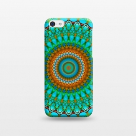 iPhone 5C  Geometric Mandala G388  by Medusa GraphicArt