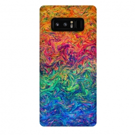 Galaxy Note 8  Fluid Colors G249 by Medusa GraphicArt