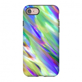 iPhone 8/7  Colorful digital art splashing G401 by Medusa GraphicArt
