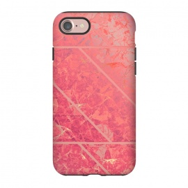 iPhone 8/7  Pink Marble Texture G281 by Medusa GraphicArt