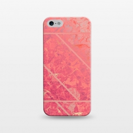 iPhone 5/5E/5s  Pink Marble Texture G281 by Medusa GraphicArt