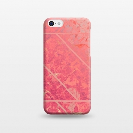 iPhone 5C  Pink Marble Texture G281 by Medusa GraphicArt