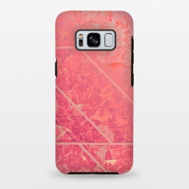 Galaxy S8+  Pink Marble Texture G281 by Medusa GraphicArt