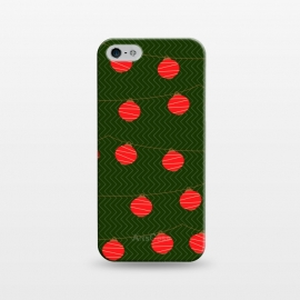 iPhone 5/5E/5s  RED LIGHTS PATTERN by MALLIKA