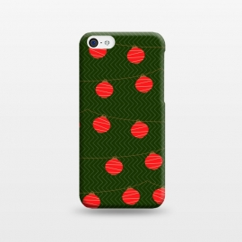 iPhone 5C  RED LIGHTS PATTERN by MALLIKA