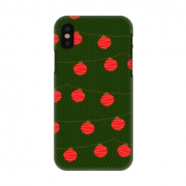 iPhone X  RED LIGHTS PATTERN by MALLIKA
