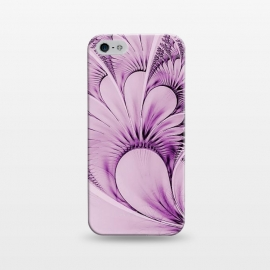 iPhone 5/5E/5s  Pink Fractal Flowers by Andrea Haase