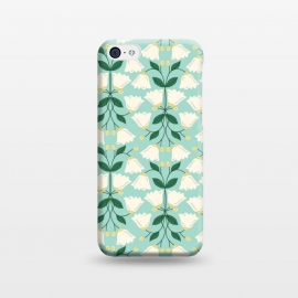 iPhone 5C  Belle Flower by TracyLucy Designs (FLORAL,PATTERN,PRETTY,NATURE)