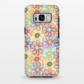RAINBOW FLORAL by TracyLucy Designs (RAINBOW,FLORAL,COLORFUL ,HAPPY)